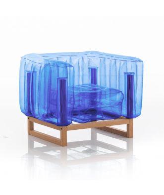 FAUTEUIL YOMI EKO WOOD Crystal