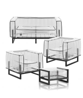 Salon de jardin Yomi Style et table basse